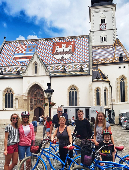 All of Zagreb Bike tour