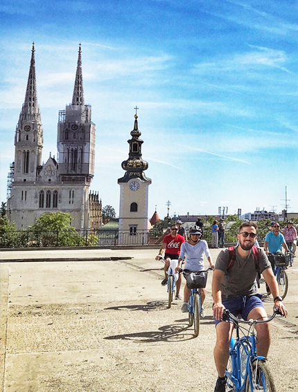 Zagreb Highlights Bike tour