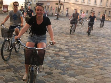 Company trip, educations and bike tours