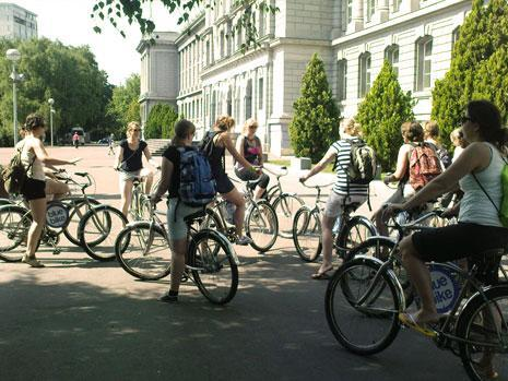 Bike tour Zagreb - ideal option for group trips
