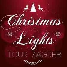 Christmas Lights tour in Zagreb